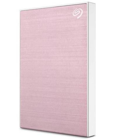 Externý pevný disk Seagate One Touch 2TB ružový