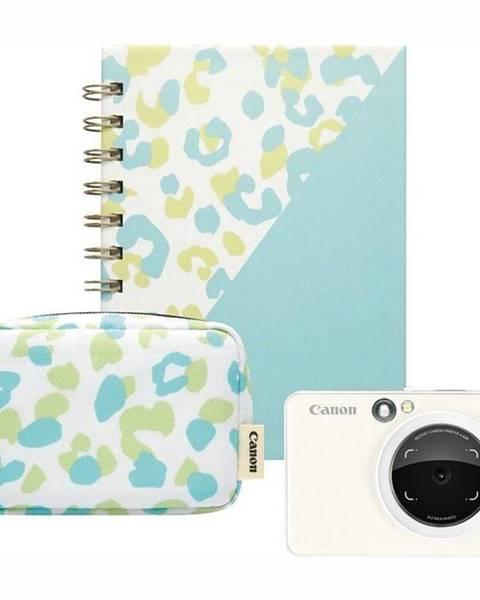 Canon Digitálny fotoaparát Canon Zoemini S Essential Kit biely