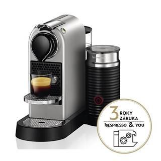 Espresso Krups Nespresso Citiz&Milk XN761B10 strieborn
