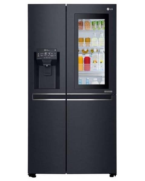 LG Americká chladnička LG Gsx960mtaz čierna