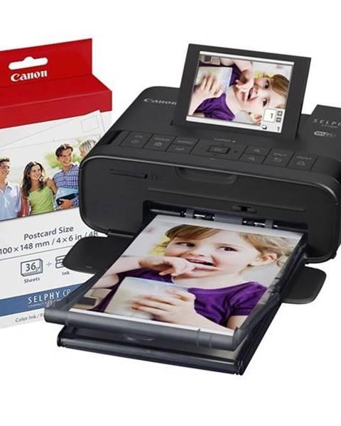 Canon Fototlačiareň Canon Selphy CP1300 + fotopapier KP-36 čierna