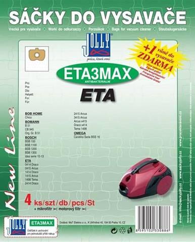 Sáčky pre vysávače Jolly ETA 3 MAX
