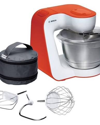 Kuchynský robot Bosch StartLine Mum54i00 biely/oranžov