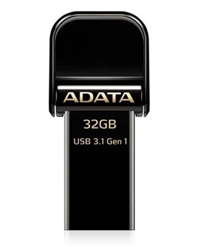 USB flash disk Adata AI920 i-Memory 32GB Lightning/USB 3.1 čierny