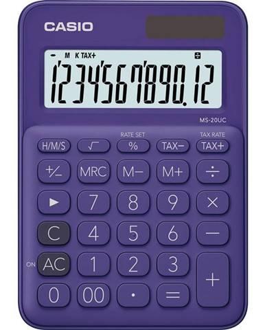 Kalkulačka Casio MS 20 UC PL fialov