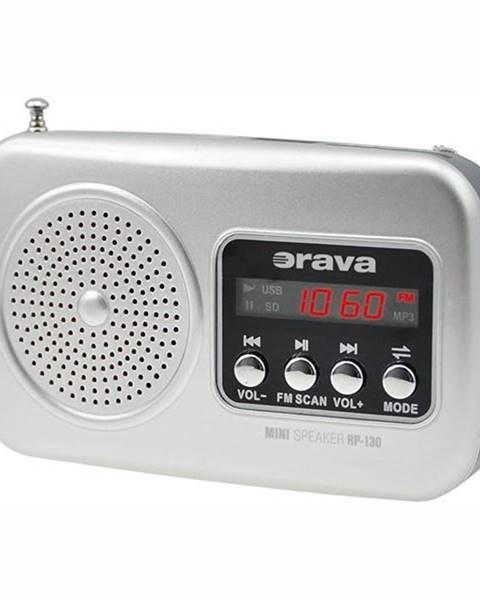 Orava Rádioprijímač Orava RP-130 siv