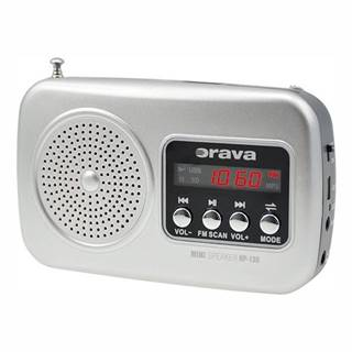 Rádioprijímač Orava RP-130 siv