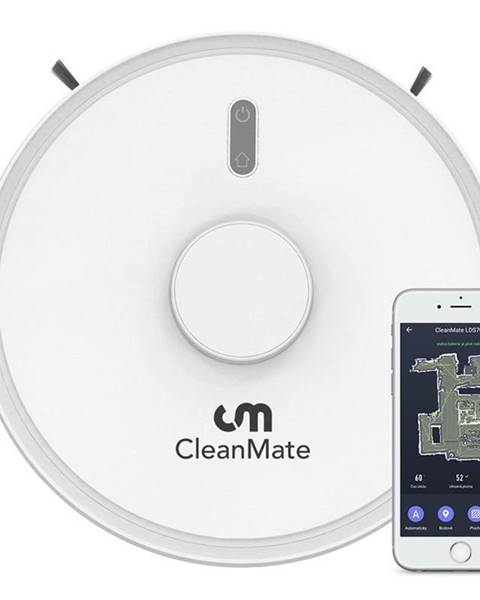 CleanMate Robotický vysávač CleanMate LDS700 biely