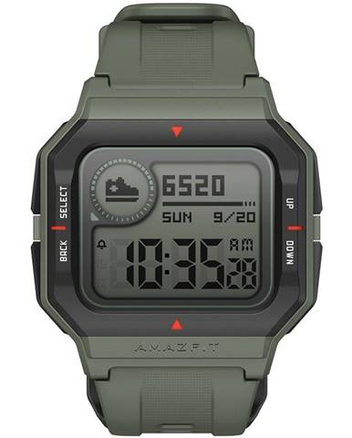 Inteligentné hodinky Amazfit Neo zelený