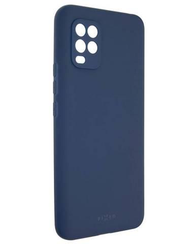 Kryt na mobil Fixed Story na Xiaomi Mi 10 Lite modrý