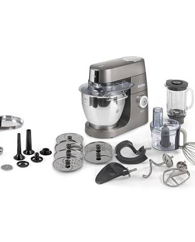 Kuchynský robot Kenwood Chef XL Titanium Kvl8400s siv