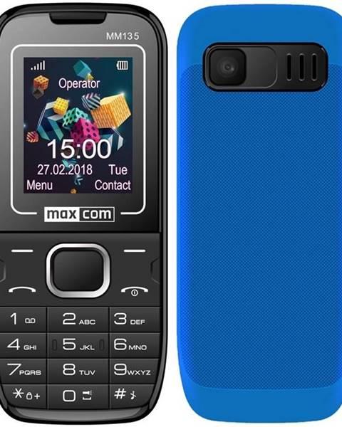 MaxCom Mobilný telefón MaxCom MM135 modrý