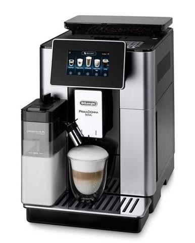 Espresso DeLonghi Ecam 610.55 SB čierne/strieborn