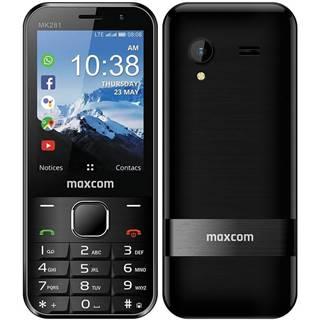 Mobilný telefón MaxCom MK281 čierny