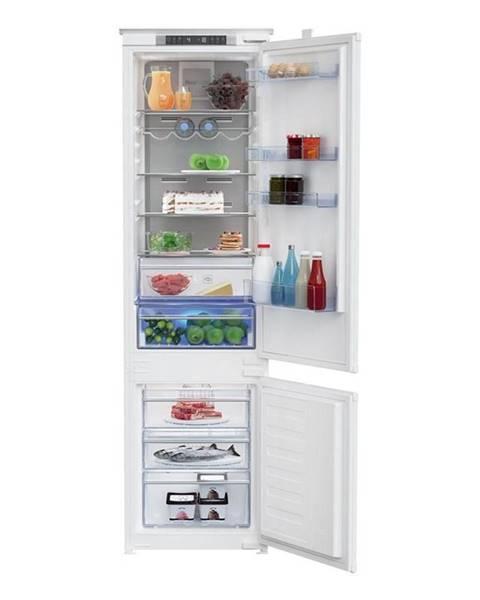 Beko Kombinácia chladničky s mrazničkou Beko Bcna306e4sn biele