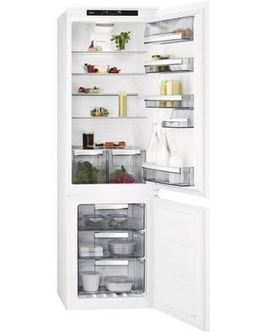 Kombinácia chladničky s mrazničkou AEG Mastery Sce818e6ts biele