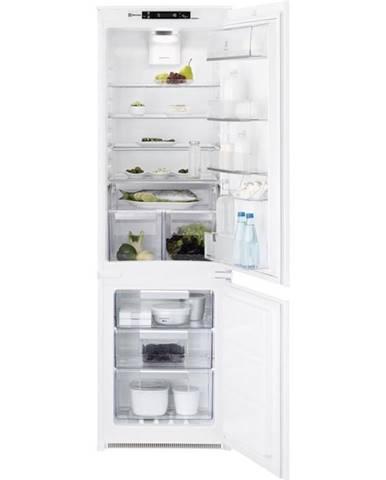 Kombinácia chladničky s mrazničkou Electrolux Ent8te18s biele