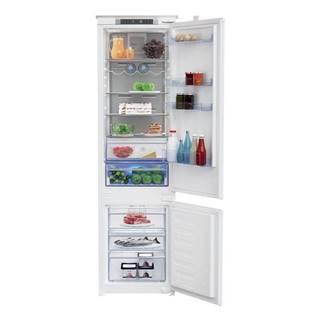 Kombinácia chladničky s mrazničkou Beko Bcna306e4sn biele