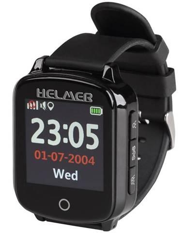 Inteligentné hodinky Helmer pro seniory LK 706 čierne