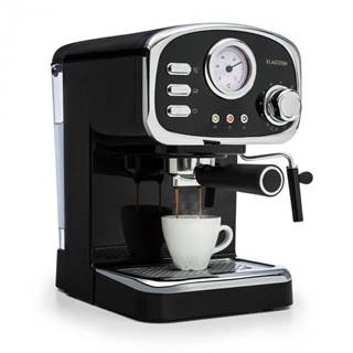 Espresso Klarstein Espressionata Gusto čierne