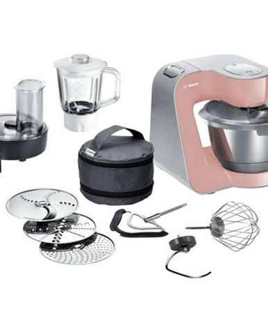 Kuchynský robot Bosch CreationLine Premium Mum58np60 ružov