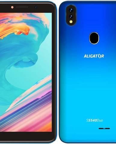 Mobilný telefón Aligator S5540 Dual SIM modrý