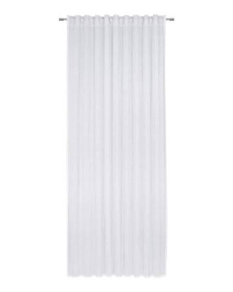 Möbelix Hotový Záves Ramona, 135/245cm, Biela