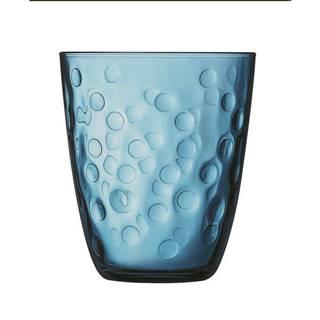Luminarc Sada pohárov CONCEPTO PEPITE 310 ml, 6 ks, modrá
