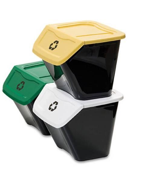 Altom Kôš na triedený odpad Ecobin 30 l, 3 ks