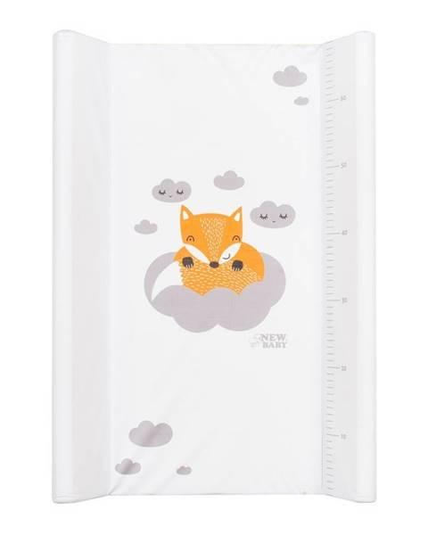 Kvalitex Prebaľovací nadstavec New Baby Líška biely 50x70cm