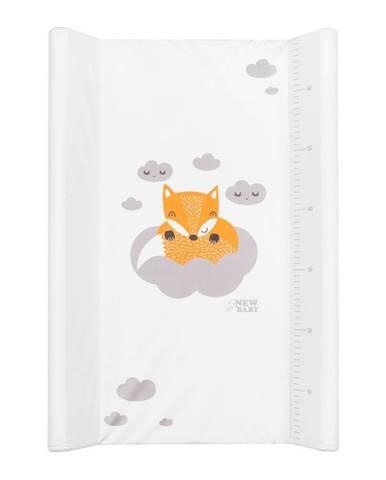 Prebaľovací nadstavec New Baby Líška biely 50x70cm