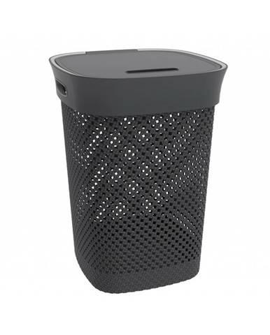 Aldo Kôš na špinavú bielizeň Woolly 50 l, čierna