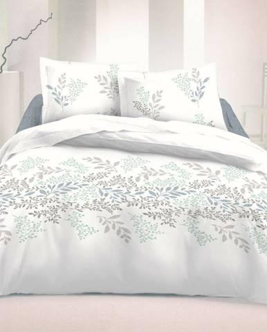 Kvalitex Bavlnené obliečky Victoria biela, 140 x 200 cm, 70 x 90 cm