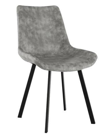 Jedálenská stolička sivá NIRO rozbalený tovar