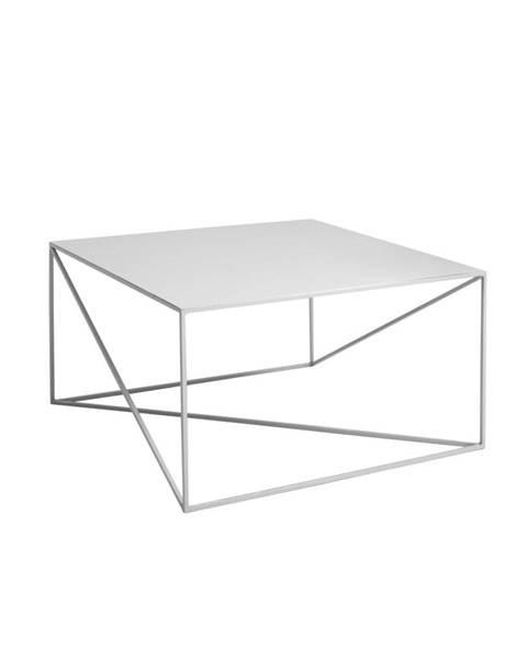 Custom Form Sivý konferenčný stolík Custom Form Memo, 80 x 80cm