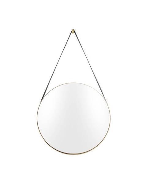 PT LIVING Nástenné zrkadlo s rámom v zlatej farbe PT LIVING Balanced, ø 47 cm