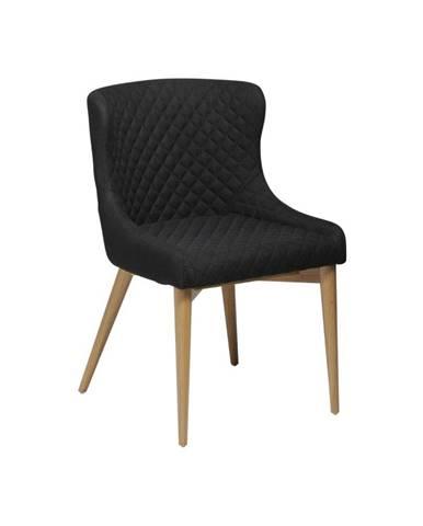Čierna jedálenská stolička DAN-FORM Denmark Vetro