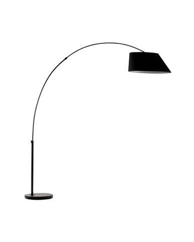 Čierna stojacia lampa Zuiver Arc
