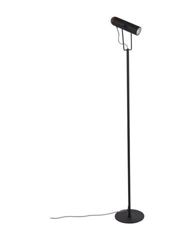 Čierna stojacia lampa Zuiver Marlon