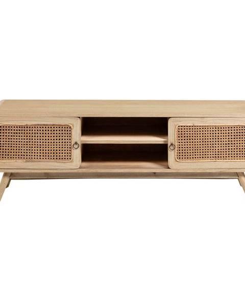 La Forma Svetlohnedý TV stolík La Forma Nalu, 150 x 50 cm