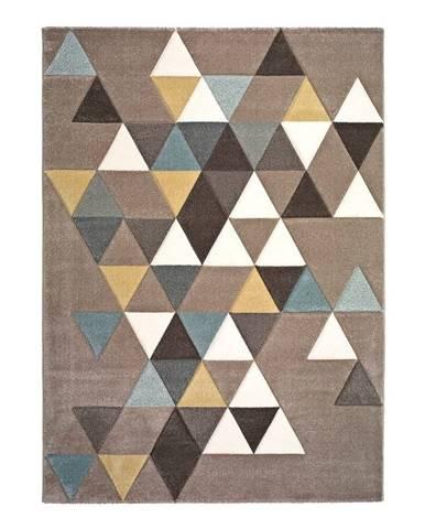 Koberec vhodný aj do exteriéru Universal Triangles, 200 x 290 cm