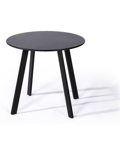 Le Bonom Sivý záhradný stôl Le Bonom Full Steel, ø50cm