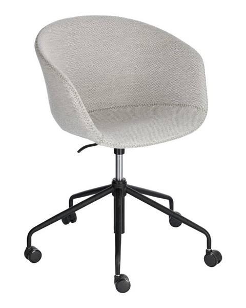 La Forma Svetlosivá kancelárska stolička La Forma Zadine