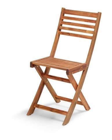 Záhradná stolička z akáciového dreva Le Bonom Natur