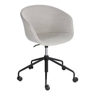 Svetlosivá kancelárska stolička La Forma Zadine