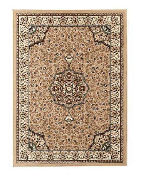 Think Rugs Béžovo-hnedý koberec Think Rugs Diamond, 120x170cm