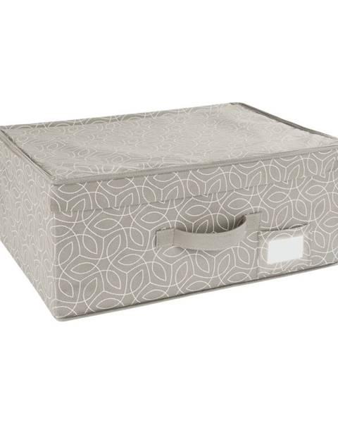 Wenko Béžový úložný box Wenko Balance, 44 x 33 x 19 cm