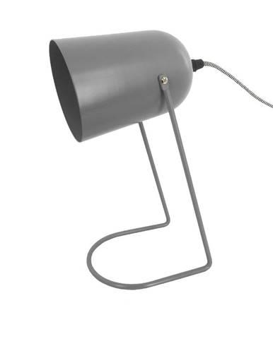 Sivá stolová lampa Leitmotiv Enchant