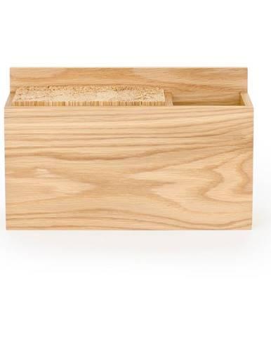Stojan na kuchynské nože z dubového dreva Wireworks