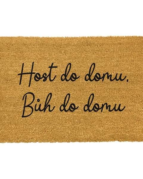 Artsy Doormats Rohožka z prírodného kokosového vlákna Artsy Doormats Host do domu, 40 x 60 cm